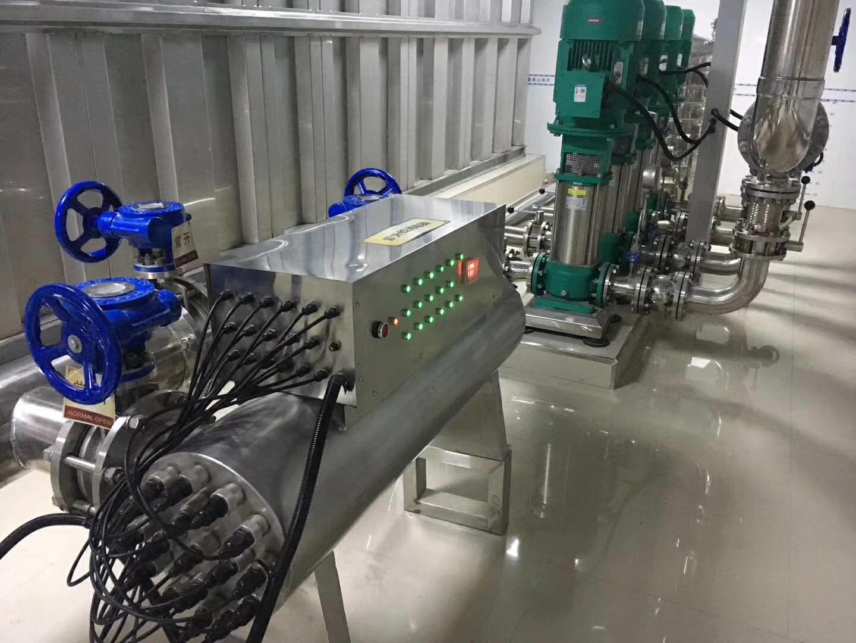 电子水处理器型号_紫外线杀菌器/现场案例 - 山东北漂环境工程有限公司